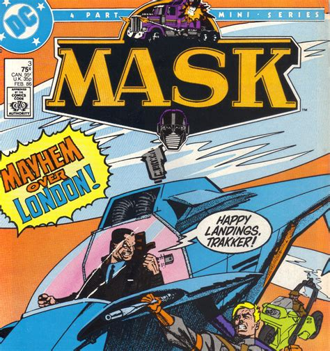 M.a.s.k. Dc Comics Vol 1 Issue 3