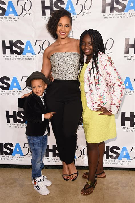Photo of Alicia Keys  & her Son  Egypt Daoud Dean