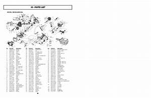 Mcculloch Eager Beaver Eb356a Eb358a Chainsaw Parts List