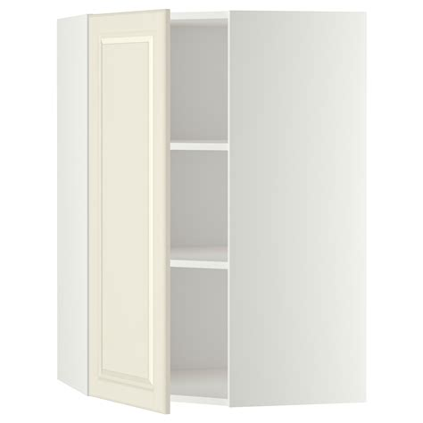 ikea corner wall cabinet metod corner wall cabinet with shelves white bodbyn off