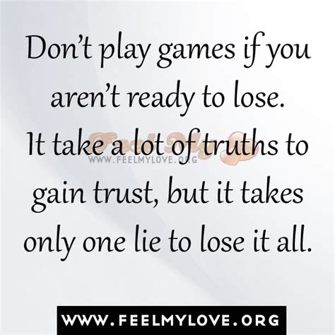 Dont Play Games With My Heart Quotes
