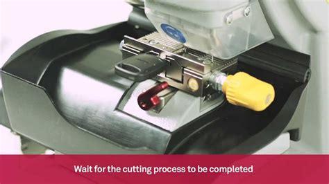 Key Cutting Machine For Cutting By Code Automotive Keys