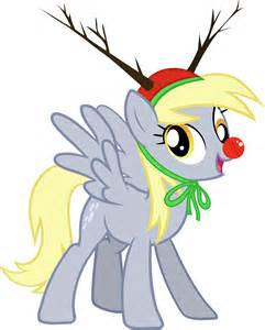 My Little Pony Christmas Derpy