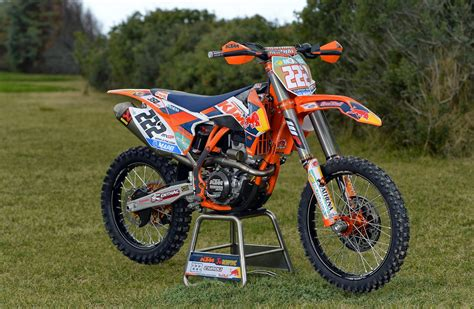racing motocross bikes racing cafè ktm sx 350f tony cairoli team red bull ktm