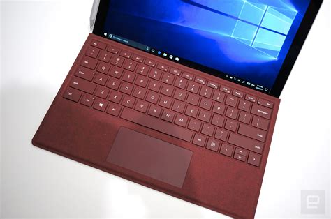surface pro keyboard colors microsoft made the surface pro both lighter and quieter