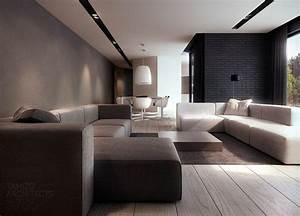 1000 idees sur le theme canape marron fonce sur pinterest With tapis berbere avec canapé cuir convertible marron