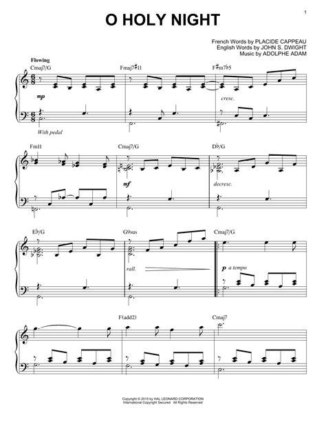 Stephen decesare exsultet music 10776522e medium easy. O Holy Night   Sheet Music Direct