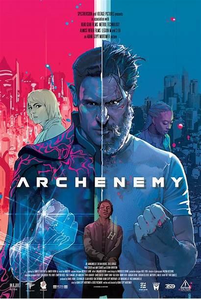 Poster Archenemy Trailer Entertainment Addict