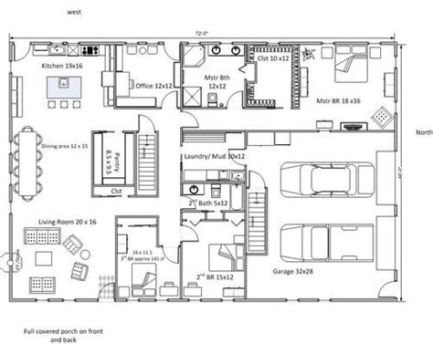 Grundriss Rechteckiges Haus by Do You Think This Floor Plan Will Work Rectangle House