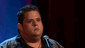 Reaction gif tagged with what?, horrified, Ralphie May