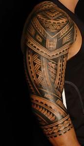 Tatouage Demi Bras Homme : tatouage tahitien homme ~ Melissatoandfro.com Idées de Décoration