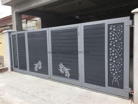 fully aluminium gate