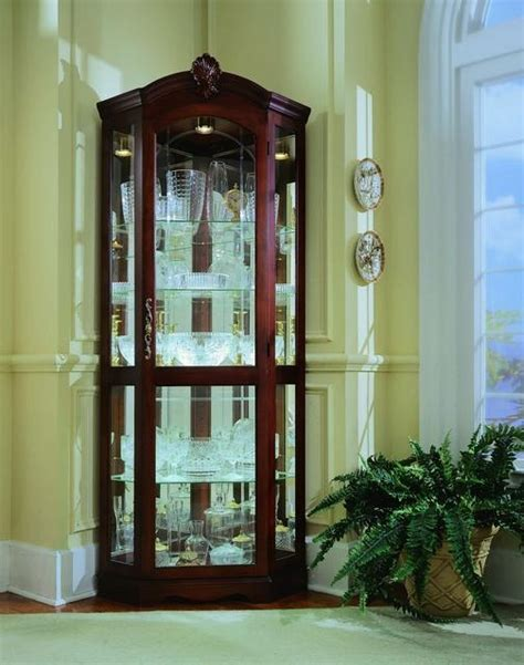 38 best images about curio cabinets on corner