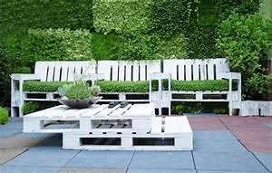 Salon De Jardin En Palette Moderne : salon de jardin en palette 15 mani res de le concevoir et ~ Melissatoandfro.com Idées de Décoration