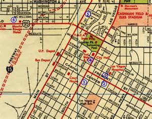 Downtown Las Vegas Strip Map