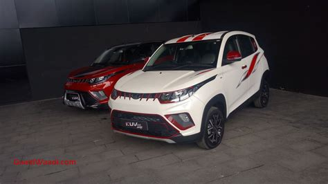 mahindra offers range  accessories  kuv nxt
