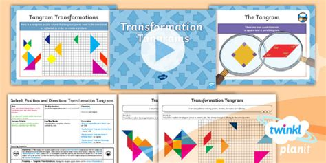 * New * Maths Y6 Position And Direction Solveit Lesson Pack