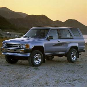 Toyota 4runner Workshop Manual 1984-1989