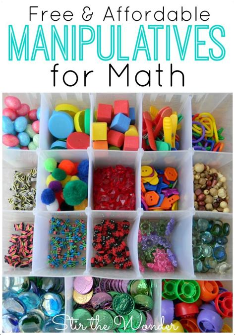 free amp affordable math manipulatives play activities for 648 | 0bbfea22d264d874c411309c167cd55a
