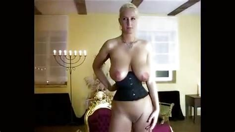 German Blonde With Big Tits Doing Her Thing Porndroids