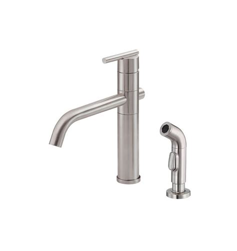 danze parma stainless steel kitchen faucet faucet d405558ss in stainless steel by danze