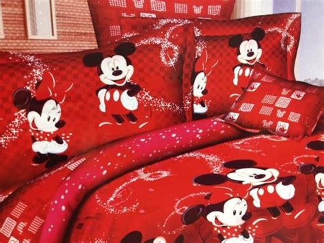 Mickey And Minnie Bed Set by Mickey And Minnie Mouse Bedding Sets For