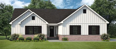 farmhouse ranch style metal building homes