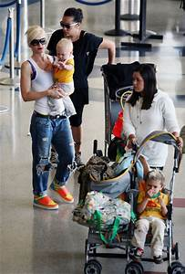 Kingston Rossdale Photos - Gwen Stefani and her Kids at ...