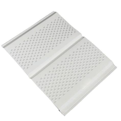 amerimax home products 12 in x 12 ft aluminum soffit
