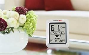 Ideale Luftfeuchtigkeit Wohnung : thermopro tp50 digitales thermo hygrometer thermometer raumklimakontrolle wei ebay ~ Markanthonyermac.com Haus und Dekorationen