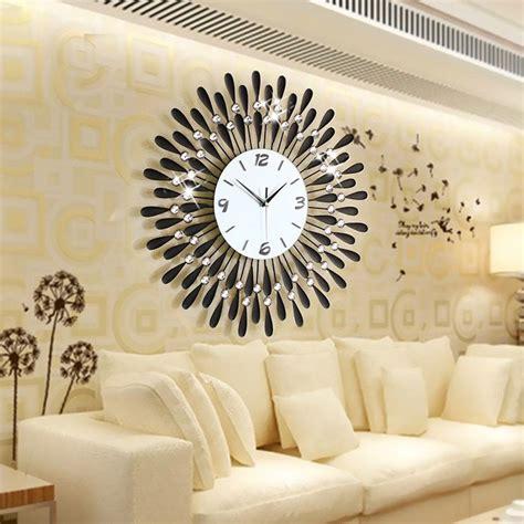 Living Room Wall Clocks Uk by Luxury Large Wall Clocks Metal Living Room