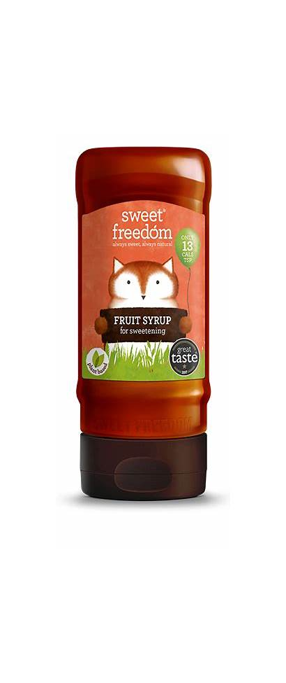 Sweet Freedom Syrup Fruit Natural Sweetness Recipes