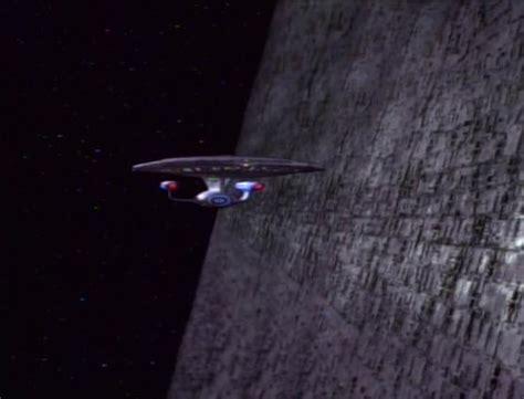 star trek    giant wall  space science