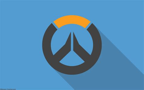 overwatch material design logo hd games  wallpapers