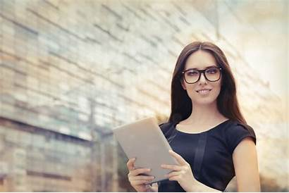 Woman Tablet Istock Young Helping Hand Smart