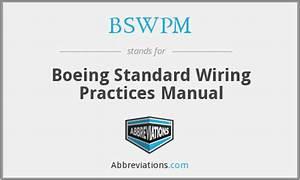 Boeing Standard Wiring Practices Manual