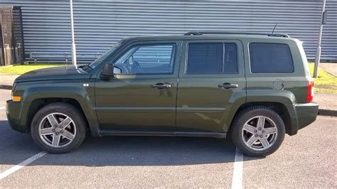 2008 Jeep Patriot Limited Crd 2.0 Metallic Green