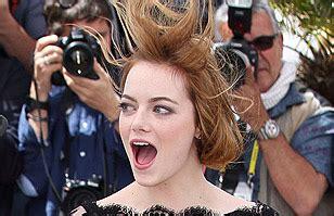 Festival de Cannes: Emma Stone se complica con el viento ...