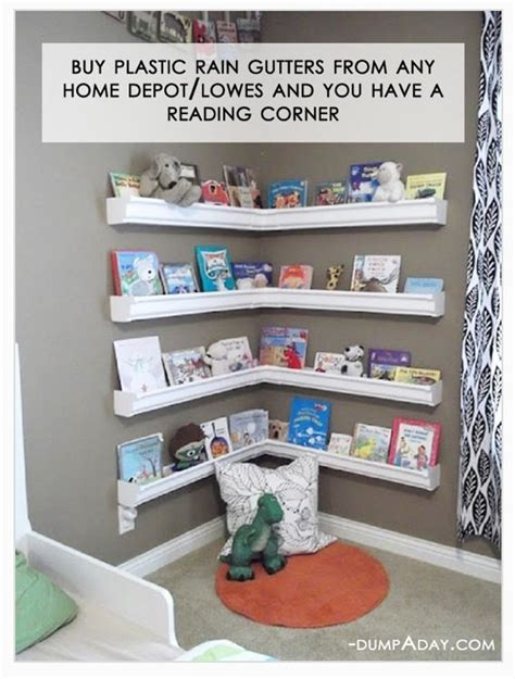 Cheap Childrens Bookcase by Easy Cheap Diy Reading Bookshelf Area To Do For Home