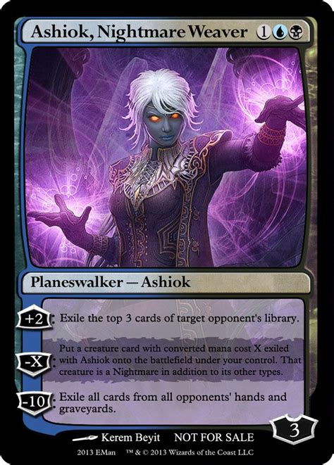 ashiok nightmare weaver deck 300 best images about mtg planeswalkers on the