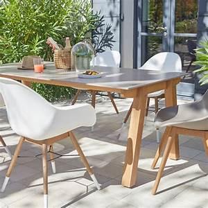 Table Pour Terrasse : salon de jardin table et chaise mobilier de jardin leroy merlin ~ Teatrodelosmanantiales.com Idées de Décoration