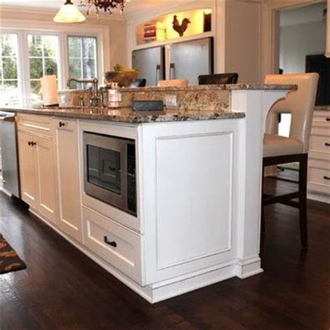 kitchen island with raised bar kitchen island with raised bar like the raised breakfast bar on a kitchen island in my