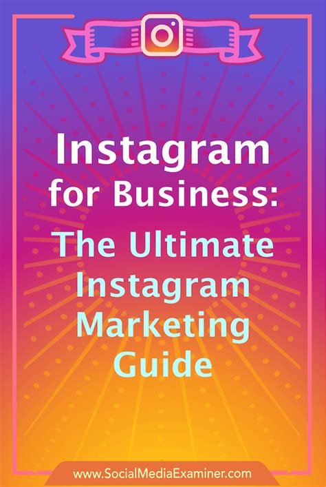 marketing for business instagram for business the ultimate instagram marketing