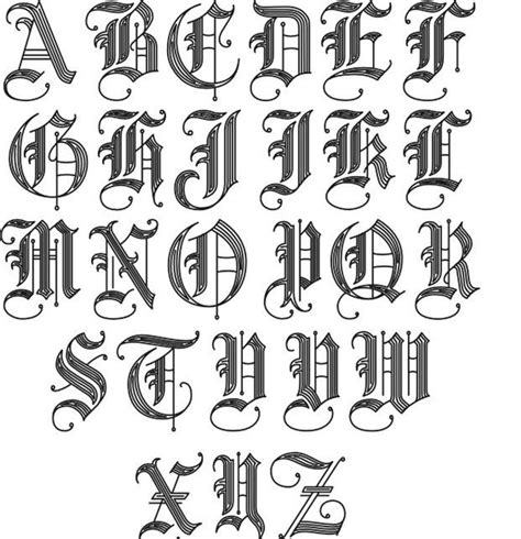 cool letter fonts fonts 2 jpg 621 215 643 tats letters 22738
