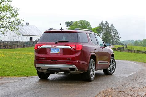 Chevy Acadia 2017 by 2017 Gmc Acadia Denali Features Equipment Gm Authority