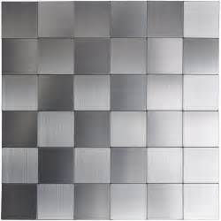 self stick kitchen backsplash tiles self adhesive metal tiles 10 pcs stainless peel n stick backsplashes
