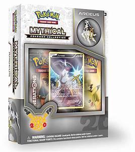Pokemon TCG Mythical Pokemon Collection - Arceus Pin Box ...