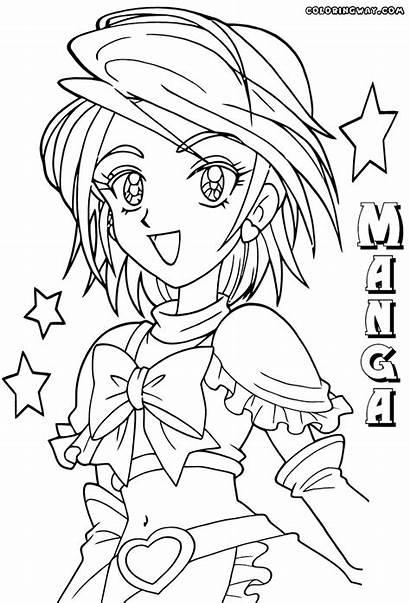 Manga Coloring Nouveaux Populaires Colorings