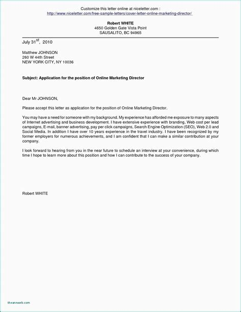 Writing A Cover Letter For A Promotion by 12 13 Cover Letter Sle To A Company Loginnelkriver
