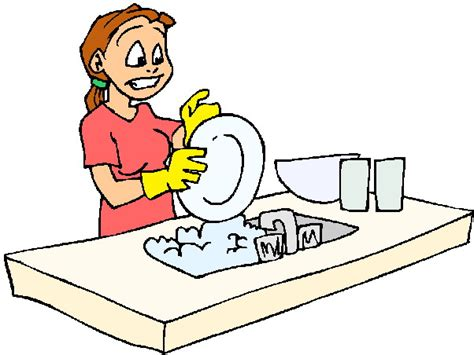 wash the dishes clipart clip clip washing up 157543